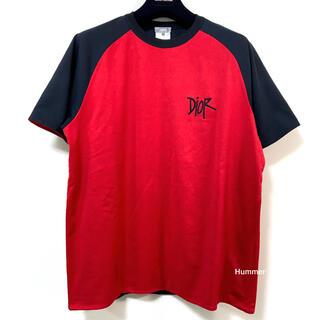 ディオールオム(DIOR HOMME)の国内正規品 新同 ディオール×ショーン 2021 リバーシブル Tシャツ XL!(Tシャツ/カットソー(半袖/袖なし))