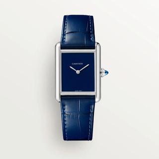 Cartier - カルティエ タンク マスト LM ブルー