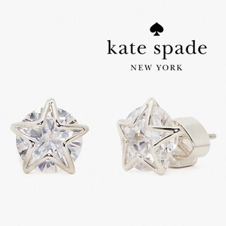 kate spade new york - 【新品♠本物】ケイトスペード スターピアス シルバー