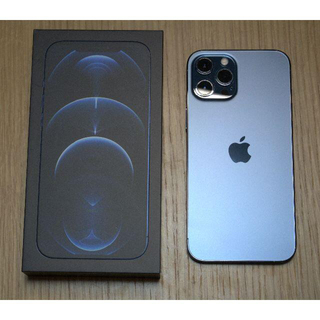 Apple - iPhone 12 Pro Max 256GB パシフィックブルー SIMフリー