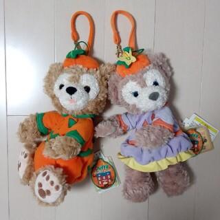 ダッフィー - 【ハロウィン】ダッフィー&シェリーメイ ぬいぐるみポーチ 2点セット Duffy