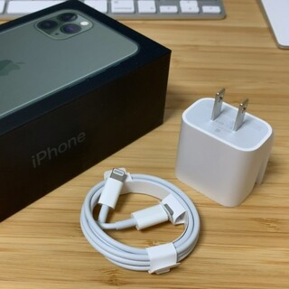 iPhone - 新品 18W 急速充電器 タップ&ケーブル