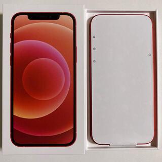 iPhone - 【未使用 SIMフリー】iPhone12 PRODUCT RED 128GB 赤