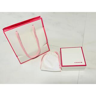 コーチ(COACH)のCOACE コーチ 紙袋 ショップ袋 ショッパー ケース 空箱 保存袋 セット(ショップ袋)