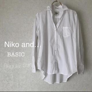 ニコアンド(niko and...)のNiko and…マーセレギュラーワイヤー入りビッグシャツ(シャツ/ブラウス(長袖/七分))