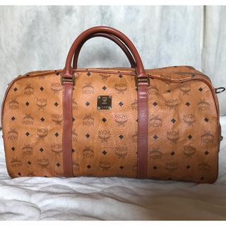 エムシーエム(MCM)のMCM  ボストン 幅約55cm ×30cm ×30cm  大きいバック 旅行鞄(ボストンバッグ)