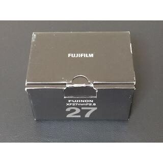 富士フイルム - FUJIFILM FUJINON XFレンズ XF27mm F2.8