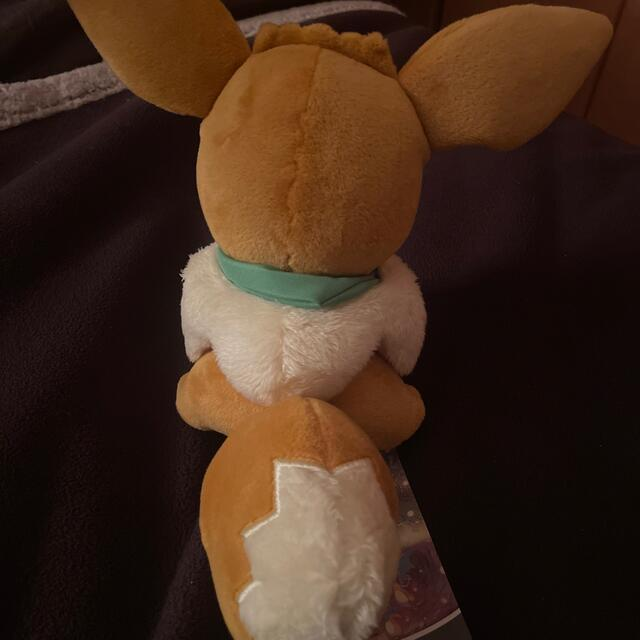 ポケモン(ポケモン)のポケットモンスター イーブイ ぬいぐるみ エンタメ/ホビーのおもちゃ/ぬいぐるみ(ぬいぐるみ)の商品写真