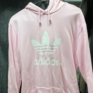 adidas - アディダス パーカー ピンク