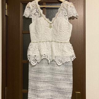dazzy store - ドレス(白)