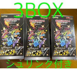 シャイニースターv 3BOX シュリンク付き(Box/デッキ/パック)