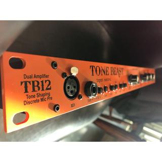 【最終値下げ】Warm Audio TB12 マイクプリアンプ(エフェクター)