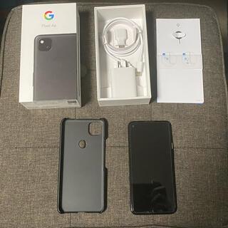 Google - 【SIMフリー版 美品】 Pixel 4a 本体 + カバー