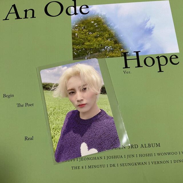 SEVENTEEN(セブンティーン)のAn Ode Hope ジョンハントレカ SEVENTEEN セブチ エンタメ/ホビーのタレントグッズ(アイドルグッズ)の商品写真