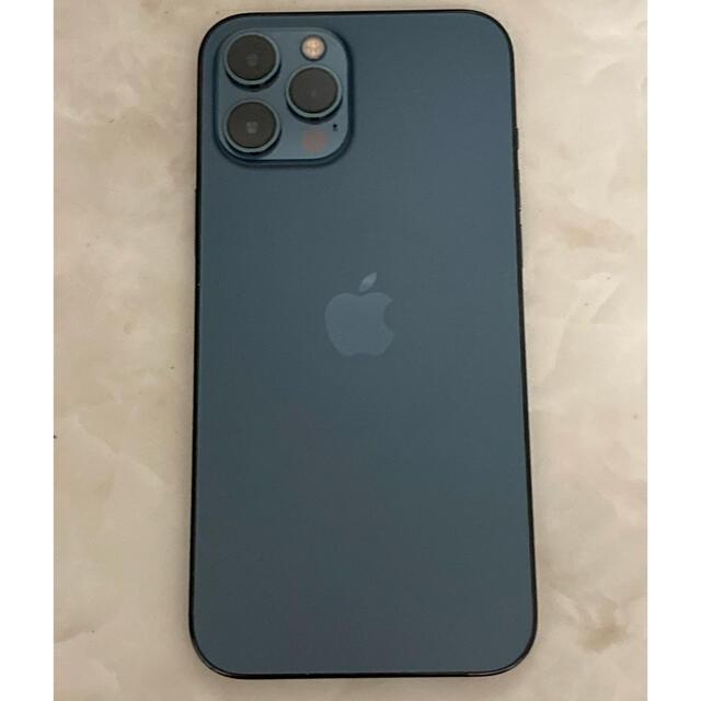 iPhone(アイフォーン)のiPhone12 Pro Max 256GB パシフィックブルー スマホ/家電/カメラのスマートフォン/携帯電話(スマートフォン本体)の商品写真