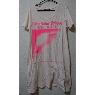 ズッカ(ZUCCa)のZUCCa ズッカ Tシャツ ワンピース Mサイズ(Tシャツ(半袖/袖なし))