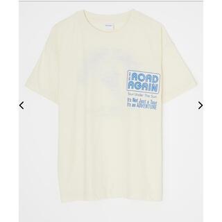 マウジー(moussy)のマウジーmoussyTシャツアイボリー(Tシャツ(半袖/袖なし))