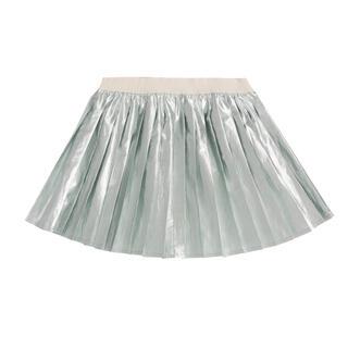 ボンポワン(Bonpoint)のbonpoint  シルバー スカート 8A    新品(スカート)