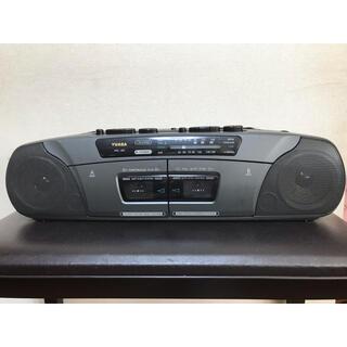 動作確認済み♡YUASA ラジカセ カセットテープレコーダー ラジオ