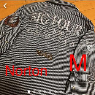 Norton - 美品 Nortonヒッコリーシャツ M