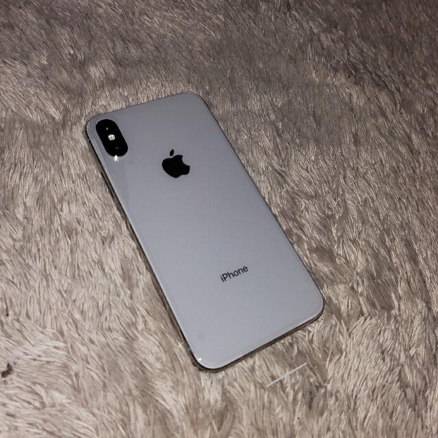 iPhone(アイフォーン)のiPhone x 256GB シルバー SIMフリー 新品 スマホ/家電/カメラのスマートフォン/携帯電話(スマートフォン本体)の商品写真