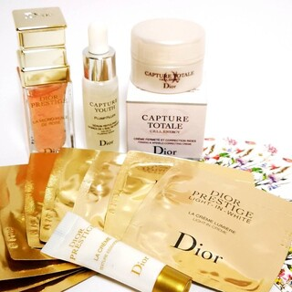 ディオール(Dior)のDior ディオール プレステージ ユイルドローズ カプチュール サンプル色々(サンプル/トライアルキット)