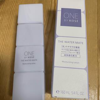 コーセー(KOSE)のコーセーONE BY KOSE  ザウォーターメイト化粧水(化粧水/ローション)