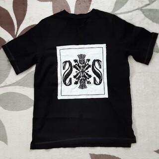 クロムハーツ(Chrome Hearts)の黒 刺繍Tシャツ (Tシャツ(半袖/袖なし))