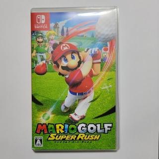 Nintendo Switch - マリオゴルフ スーパーラッシュ switch ソフト