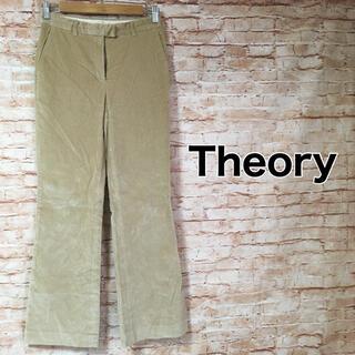 セオリー(theory)のセオリー Theory パンツ カジュアル ベルベット ベロア ストレート 4(カジュアルパンツ)