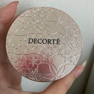 COSME DECORTE - コスメデコルテ フェイスパウダー トランスルーセント00 2回使用