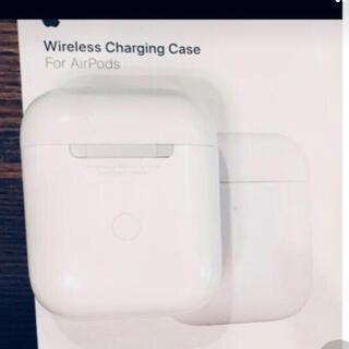 アップル(Apple)の純正 Apple AirPodsイヤホンワイヤレスケース第2世代付属 A1938(ヘッドフォン/イヤフォン)