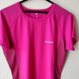 モンベル(mont bell)のモンベル レディースTシャツ  XL (ピンク)(Tシャツ(半袖/袖なし))