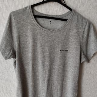 モンベル(mont bell)の モンベル レディースTシヤツ XL(グレー)(Tシャツ(半袖/袖なし))