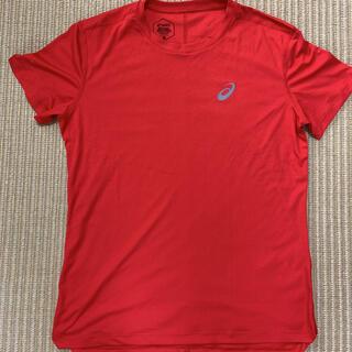 アシックス(asics)のアシックス ランニング用 ポリ半袖シャツ(ウェア)