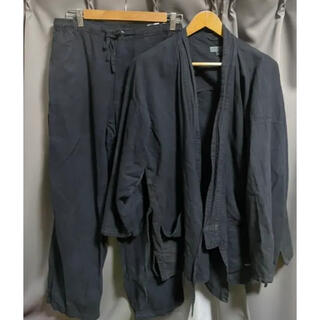 mont bell - モンベル O.D.サムエ パンツ 上下セット インディゴ 作務衣