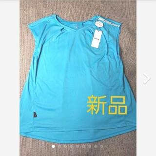 スキンズ(SKINS)の新品 スキンズ【SKINS】フレンチスリーブシャツ レディース(シャツ/ブラウス(半袖/袖なし))