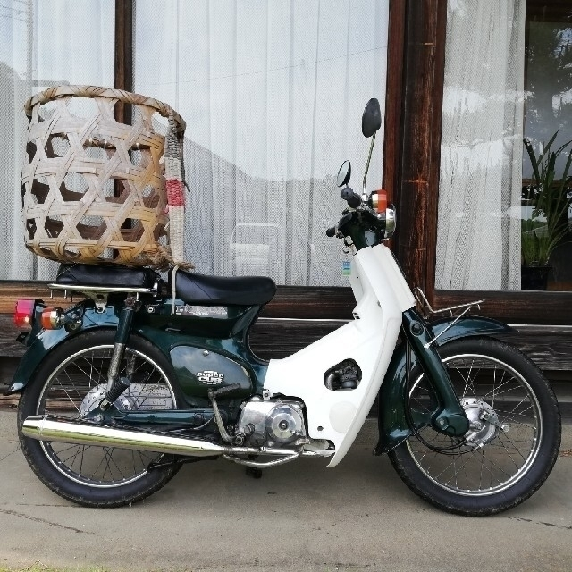 ホンダ(ホンダ)のスーパーカブ50 国産 武川ボアアップ 錆少  値下げ 自動車/バイクのバイク(車体)の商品写真