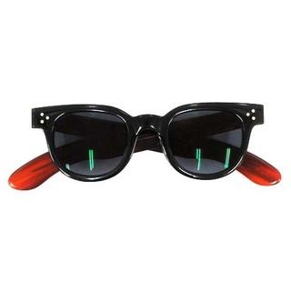 ハイク(HYKE)のハイク JULIUS TART OPTICAL サングラス 眼鏡 44 黒 茶(サングラス/メガネ)