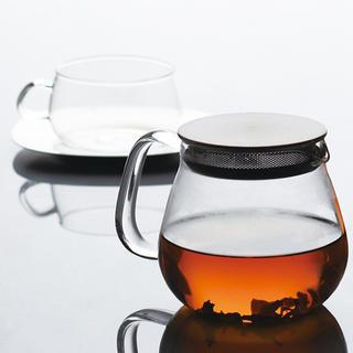 KINTO UNITEA ONE TOUCH TEAPOT 460ml(茶)