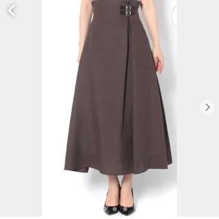 ドゥロワー(Drawer)の定価¥25,300 ウィムガゼット ウエストベルト スカート(ロングスカート)