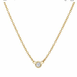 Tiffany & Co. - ダイヤモンド バイザヤード シングル ダイヤモンド ペンダント 0.05