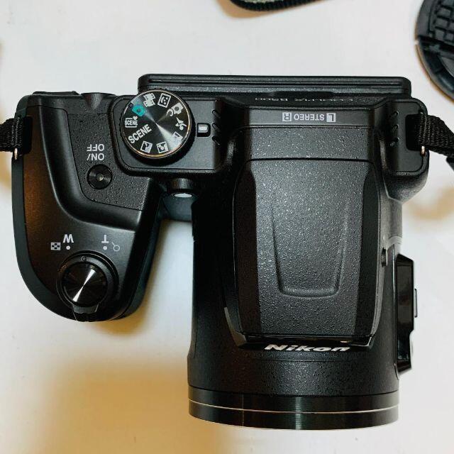 Nikon(ニコン)のニコン クールピクス B500 coolpix ブラック スマホ/家電/カメラのカメラ(デジタル一眼)の商品写真