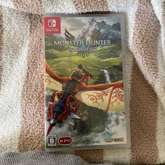 Nintendo Switch(ニンテンドースイッチ)のモンスターハンターストーリーズ2 ~破滅の翼~ Switch エンタメ/ホビーのゲームソフト/ゲーム機本体(家庭用ゲームソフト)の商品写真