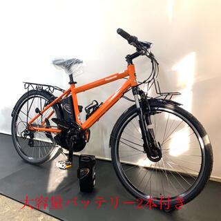 パナソニック ハリヤ 26インチ バッテリー2本 8ah 電動自転車