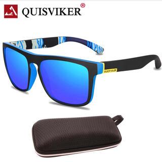 QUISVIKER 偏光グラス サングラス  UV400 メガネケース付き