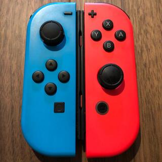ニンテンドースイッチ(Nintendo Switch)のNintendo JOY-CON (L)/(R) ネオンブルー/ネオンレッド(その他)
