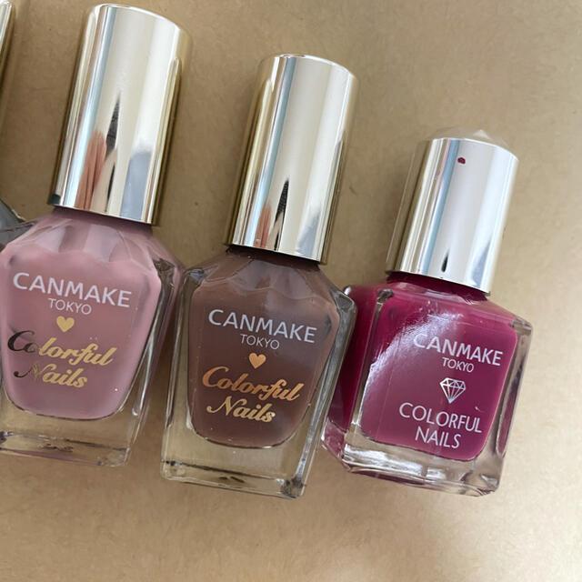 CANMAKE(キャンメイク)のCANMAKE キャンメイク ネイル 93 N08 N15 N28 N29  コスメ/美容のネイル(マニキュア)の商品写真