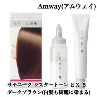アムウェイ(Amway)の【新品・未使用】Amway(アムウェイ) サテニーク ラスタートーン EX 5(カラーリング剤)