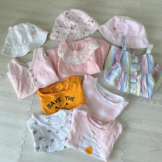 ギャップ(GAP)の夏物 baby gap  Tシャツ+ワンピース+帽子 10点セット  90センチ(Tシャツ/カットソー)